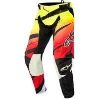 Alpinestars Techstar Venom Pants red/yellow/black