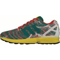 Adidas ZX Flux Weave equipment green/yellow/red
