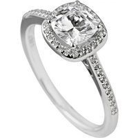DiamonFire Cushion Cut Pave Surround Ring (61-1505-1-082)