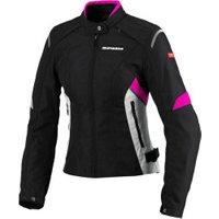 Spidi Flash Tex Lady jacket black/pink