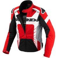 Spidi Warrior Tex Jacket red/black/weiss