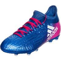Adidas X 16.1 FG Jr blue/footwear white/shock pink