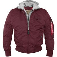 Alpha Industries MA-1 D-Tec burgundy