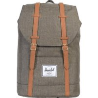 Herschel Retreat Backpack canteen crosshatch/tan synthetic leather