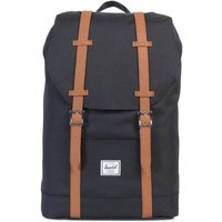 Herschel Retreat Mid-Volume Backpack black/tan
