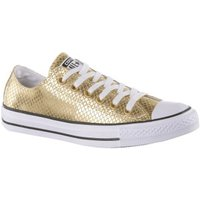 Converse Chuck Taylor All Star Low Metallic Scaled Leather gold/black/white