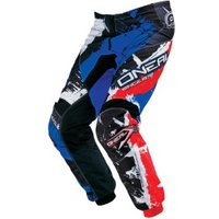 O'Neal Element Shocker pants black/red/blue