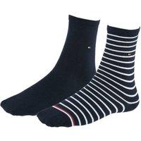 Tommy Hilfiger Business Socks striped blue (443015001-563)