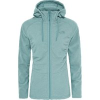 The North Face Women's Mezzaluna FleeceJacket trellis green stripe