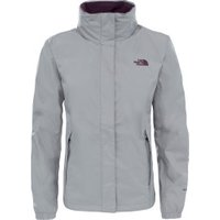 The North Face Resolve 2 Jacket Women metallic silver