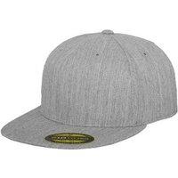 Flexfit 6210 Premium 210 Fitted heather grey