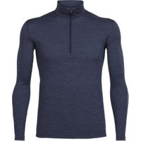 Icebreaker Oasis Long Sleeve Half Zip Men fathom heather
