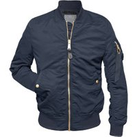 Alpha Industries MA-1 VF LW Wmn rep blue/gold