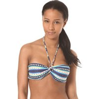 Billabong Sol Searcher Twisted Bandeau Top stripes