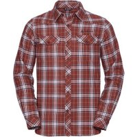VAUDE Men's Algund LS Shirt cherrywood
