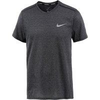 Nike Breathe Men's Short-Sleeve Running Topblack/heather (833136)