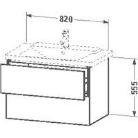 Duravit L-Cube (LC624705353)