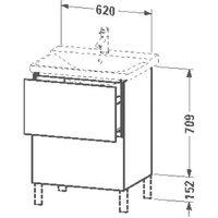 Duravit L-Cube (LC660007272)