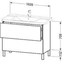 Duravit LC660201818
