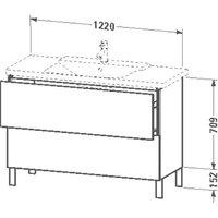 Duravit L-Cube (LC660307272)