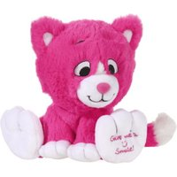 Heunec Give me a Smile - Kitty hotpink 14 cm