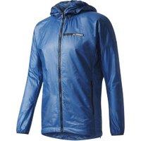 Adidas Terrex Agravic Alpha Hooded Shield Windbreaker core blue
