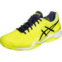 Asics Gel-Resolution 7 Clay safety yellow/indigo blue/white