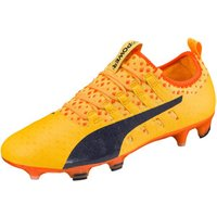 Puma evoPOWER Vigor 1 FG ultra yellow/peacoat/orange clown fish