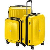 Hauptstadtkoffer X-Berg Spinner Set 55/65/75 cm glossy yellow