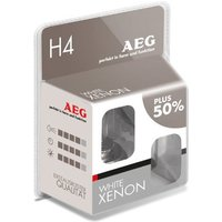 AEG White Xenon H4 2-er Set