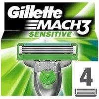 Gillette Mach3 Sensitive (4 pcs.)