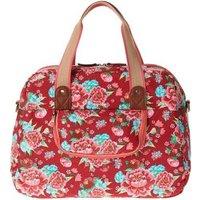 Basil Bloom Carry All Bag (scarlet red)