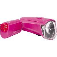 Trelock LS 350 I-Go Sport + LS 710 Reego pink