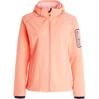 CMP Women Softshell Jacket Zip Hood (3A05396) peach/flamingo