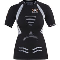X-Bionic Running Lady The Trick Ow Shirt Sh_Sl. black/white nos