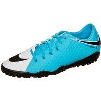 Nike HypervenomX Phelon III TF white/black/photo blue/chlorine blue