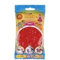 Hama 1000 Piece Bag Transparent Red