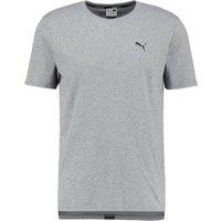 Puma Evolution Men Core T-Shirt medium gray heather
