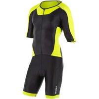 2XU X-Vent Full Zip Trisuit Men (MT4355D) black/lime punch