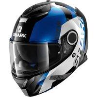 SHARK Spartan Apics black/white/blue