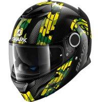 SHARK Spartan Carbon Mezmair black/yellow/green