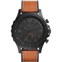 Fossil Q Nate Leather darkbrown