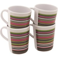 Outwell Blossom Cup-Set 4 Magnolia Red