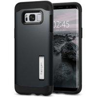 Spigen Slim Armor Case (Galaxy S8) metal slate
