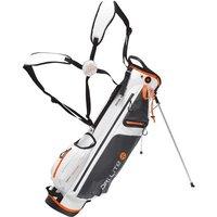 Big Max Dri Lite 7 Standbag white/charcoal/orange