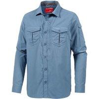 Craghoppers Nosilife Adventure LS Shirt smoke blue