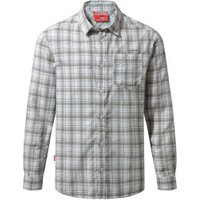 Craghoppers Nosilife Prospect LS Shirt quarry grey combo