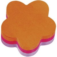 Post-it Flower Shaped Notes Lilac/Pink/Orange