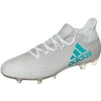 Adidas X 17.2 FG footwear white/energy blue/clear grey