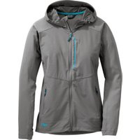 Outdoor Research Women's Ferrosi Hooded pewter/typhoon